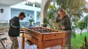 Foosball on Gran Canaria