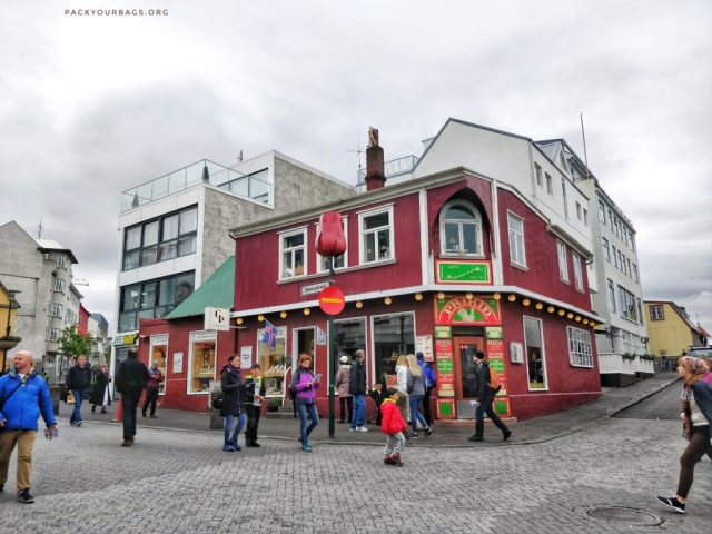 colourful houses of Reykjavik