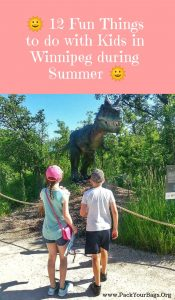 12 Fun Things to do with Kids in Winnipeg during Summer