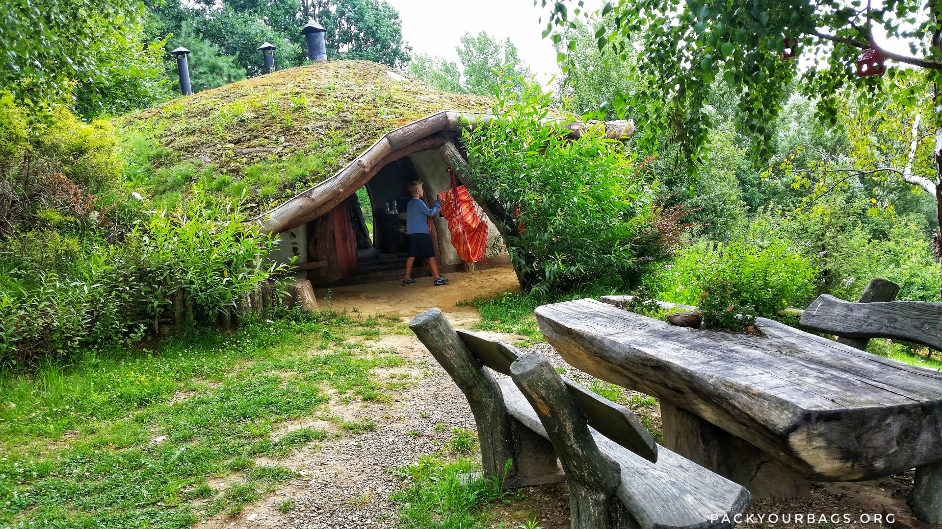 Hobbitówa, the Polish Hobbit House