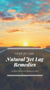 natural jet lag remedies